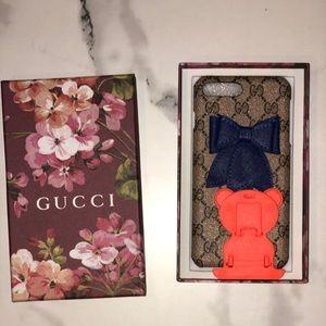 iPhone 7/8 Plus Floral Gucci Case